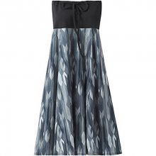 Prana Dámské šaty Solana Dress Charcoal Gemstone S
