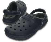 Crocs Pantofle Crocs Winter Clog Navy/Charcoal 203766-459 41-42