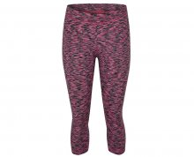 LOAP Dámské tříčtvrteční kalhoty Makitana Kn Pink Melange TLW1710-J91J XS