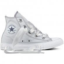 Converse Dámské tenisky Chuck Taylor All Star Big Eyelets Pure Platinum/Light Carbon 36,5