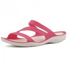 Crocs Dámské pantofle Swiftwater Sandal Paradise Pink/White 203998-6NR 36-37