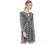 Desigual Dámské šaty Vest Hayley 17WWVF21 1001 XS