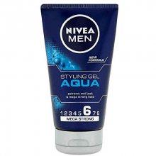Nivea Gel na vlasy s mokrým efektem Aqua (Styling Gel) 150 ml