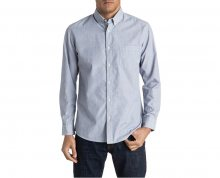 Quiksilver Pánská košile Everyday Wilsden Ls Nightshadow Blue EQYWT03378-BPT0 XL