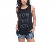 Roxy Dámské triko Aztec Aloha Anthracite ERJZT03808-KVJ0 S