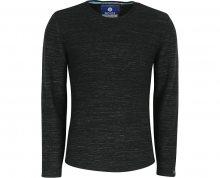 Noize Pánské triko s dlouhým rukávem Black 4423110-00 M