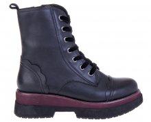 Fornarina Dámská obuv Carnaby - Black Calf Wo`s Ankle Boot PI18CY1051C000 36
