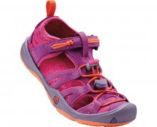 KEEN Dětské sandály Moxie Sandal Purple Wine/Nasturtium KIDS 24