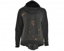Deha Dámská mikina High Neck Sweatshirt D63342 Dark Grey Mel.  S