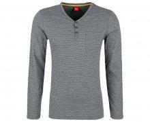 s.Oliver Pánské triko 13.709.31.5553.97G0 Blend Grey L