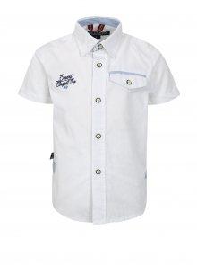 Bílá klučičí košile s kapsou North Pole Kids