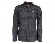 Noize Pánská košile s dlouhým rukávem Navy 4546105-00 S