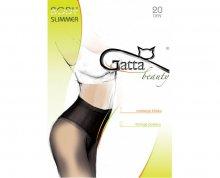 Gatta Černé punčochové kalhoty Body Slimmer black S