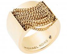 Michael Kors Masivní pozlacený prsten MKJ5795710 55 mm