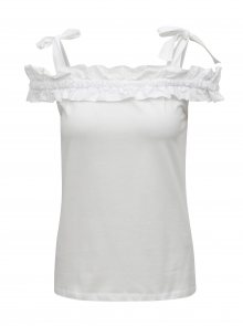 Bílý top s odhalenými rameny Dorothy Perkins