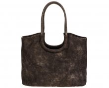 LYLEE Elegantní kabelka Frances Shopping Bag Dark Brown