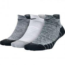 Nike W Nk Dry Cush Low Gfx 3Pr-Stmt bílá M