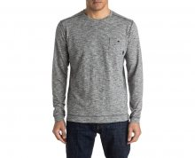 Quiksilver Tričko Lindow Crew Dark Grey Heather EQYSW03142-KTFH XL