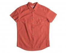 Quiksilver Pánská košile Time Box Burnt Sienna EQYWT03444-NMH0 M