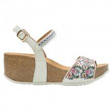 Desigual Dámské sandále Bio7 White Flowers 18SSHP66 1001 37