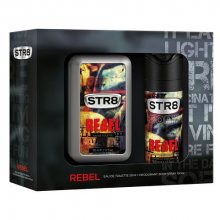 STR8 Rebel - EDT 50 ml + deodorant ve spreji 150 ml