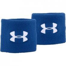 Under Armour Performance Wristbands modrá Jednotná