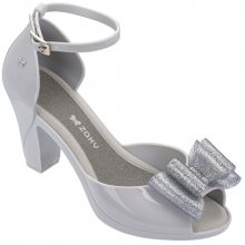 Zaxy Dámské sandály Diva Top Sandal Fem 82442-50802 Grey/Silver 35-36