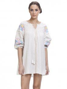 Tantra Dámské šaty DRESS3065_White