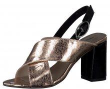 Tamaris Elegantní dámské sandále 1-1-28395-38 Lt.Rose/Black 36