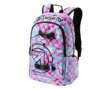 Meatfly Batoh Basejumper 3 Backpack L - Cross Mint Print