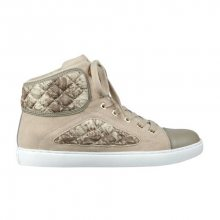 Guess Tenisky Revera Tweed High-Top Sneakers natural 38
