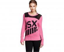 Victoria´s Secret Dámská mikina French Terry&Mesh Pullover růžový XS