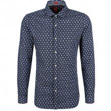 s.Oliver Pánská modrá bavlněná košile Slim Fit XL