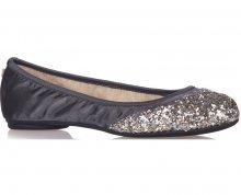 Butterfly Twists Skládací baleríny Ashley Slate/Silver Glitter BT21-032-761 36