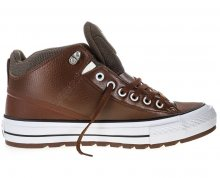 Converse Tenisky Chuck Taylor AS Street Boot Dark Clove/Pale Putty/White 40