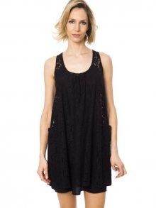 Trussardi Collection Dámské šaty D20TRC1003_Nero/Black