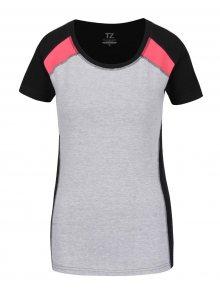 Černo-šedé dámské tričko M&Co