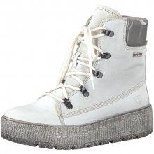 Tamaris Elegantní dámské kotníkové boty 1-1-26730-39-197 White Comb 39