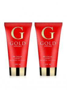 Gold Serums Sada BB krém odstín Light - 2 kusy\n\n