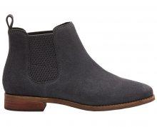 TOMS Dámské šedé boty Fi Grey Suede Ella 37