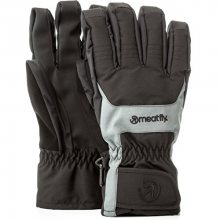 Meatfly Pánské prstové rukavice Cyclone Gloves B - Black/Grey S