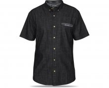 Dakine Pánská košile Alder S/S Woven Black Wash 10000890-W17 M