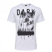 ONLY&SONS Pánské tričko Dark Fitted Tee White M