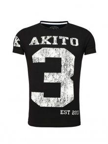 Akito Tanaka Pánské tričko 502 - 1_schwarz-weiß