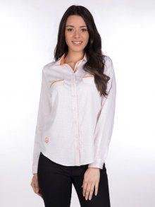 Giorgio Di Mare Dámská košile GI1820036_White/Orange