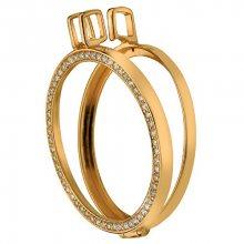 Hot Diamonds Pozlacený přívěsek na elementy Anais s diamantem DP558_DP559 2,5 cm