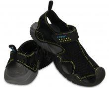 Crocs Sandále Swiftwater Sandal Black/Charcoal 15041-070 45-46