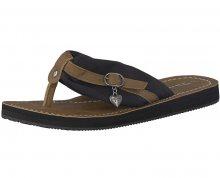 Tamaris Dámské pantofle 1-1-27109-20-034 Black/Muscat 36