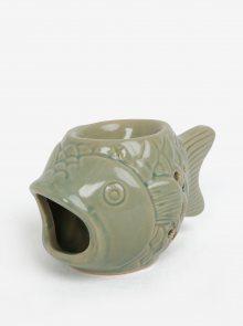 Zelená aromalampa ve tvaru ryby SIFCON