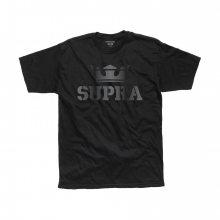Tričko Black Logo Supra černá XL